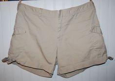 Nike Shorts Womens Large L 12 14 Tan Khaki #Nike #CasualShorts
