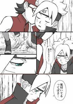 Sarada y Boruto Naruto And Sasuke, Kid Kakashi, Naruto Girls, Sakura And Sasuke, Naruto Art, Naruto Uzumaki, Naruhina, Rinne Sharingan, Boruto And Sarada