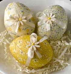 I adore the vintage prints designer Rebekah Meier used to create these fabric eggs. I have some fabrics in my stash that would be perfect for these Sunny, Springtime Fabric Eggs. And that's one of …