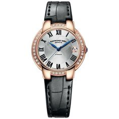 Raymond Weil Jasmine Silver Dial Brown Leather Strap Ladies Watch -- Check this awesome product by going to the link at the image. Fine Watches, Cool Watches, Watches For Men, Ladies Watches, Women's Watches, Wrist Watches, Jewelry Watches, Swiss Luxury Watches, Raymond Weil
