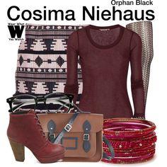 Inspired by Tatiana Maslany as Cosima Niehaus on Orphan Black.