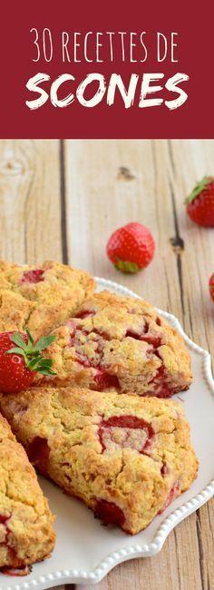 Pour le petit déjeuner ou le goûter : 30 recettes faciles de scones, la recette so british !
