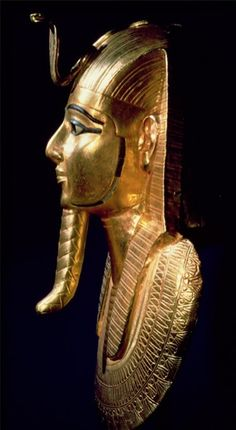 Funerary Mask of Psusennes byEgyptian 21st Dynasty