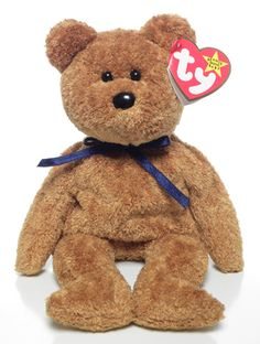 Ty Beanie Babies: Fuzz the Bear Beanie Babies Worth, Beanie Babies Value, Rare Beanie Babies, Beanie Baby Bears, Ty Boos, Ty Beanie Boos, Ty Babies, Plush Animals, Stuffed Animals