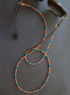 Sunglass Lanyard, Glasses Chain Beaded, Glasses Chain, Eyeglass Chain, Sunglass … – Etsy – Join in the world of pin Cute Jewelry, Diy Jewelry, Beaded Jewelry, Jewelery, Jewelry Accessories, Handmade Jewelry, Jewelry Making, Beaded Bracelets, Beaded Anklets