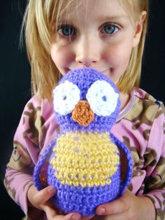 Crochet a sweet little owl for someone special, using our free pattern! from Craftown.