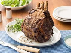 *****Ina Garten's standing rib roast ~ Perfection! A delicious holiday or special occasion meal