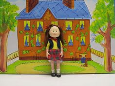 Madeline Doll Friend Chloe #4 GUC #Eden