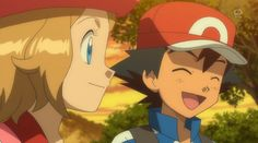 All your Amourshipping needs and hints. It's Canon. Pokemon Ash And Serena, Pokemon X And Y, Pokemon People, Ash Pokemon, Pokemon Fan, Pikachu, Pokemon Kalos, Ashes Love, Ash Ketchum