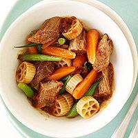 Made this for dinner tonight and it was fantastic! Chuck Wagon Pot Roast (via Parents.com)
