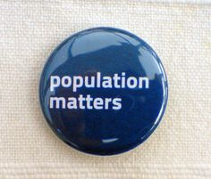 Population Matters Badge