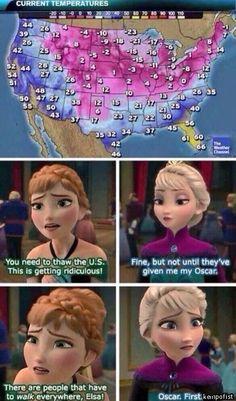 The movie deserves the award. Frozen disney.