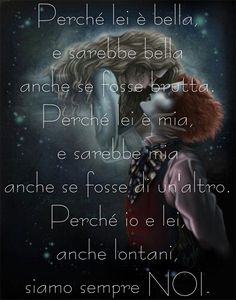 se non è vero All You Need Is Love, My Love, Writing Characters, Lesbian Love, Tumblr, Johnny Depp, Poetry Quotes, Alice In Wonderland, Decir No