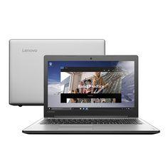 """Notebook Lenovo IdeaPad Intel i5-6200U 4GB 1TB Windows 10 Home Tela 14"""" Prata << R$ 168900 em 10 vezes >>"""