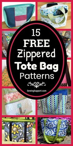 Bag Patterns To Sew, Sewing Patterns Free, Easy Tote Bag Pattern Free, Diy Bags Purses, Patchwork Bags, Fabric Bags, Sewing Projects For Beginners, Sewing Techniques, Model House