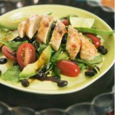 Quorn Fileit ja ruokaisaa salaattia  la Pedro
