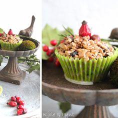 seidenfein 's Dekoblog: Fütter die Vögel mit Muffins * feed the birds with muffins !