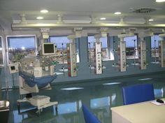 Remodeling to Public Hospitals of Málaga.