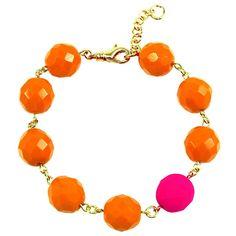 Pink Neon Statement Bracelet