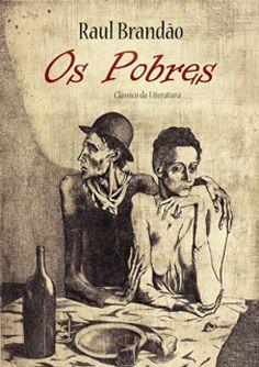 """Capa do livro """"Os Pobres"""" de Raul Brandão."""
