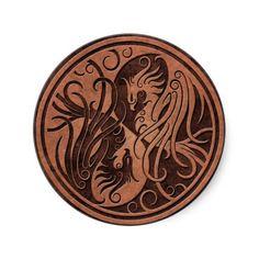 Yin Yang Phoenix (skin coloured)