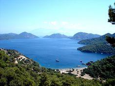 Sarsala Beach, Dalaman, Mugla, Turkey Can't wait to come back! Sailing Day, Turkey Photos, Scenic Photography, Cool Photos, Sunrise, Beautiful Places, Coast, Around The Worlds, The Incredibles