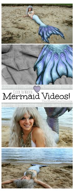 Videos of Mermaids Caught on Camera! Click to see footage of a real live mermaid swimming in the Great Lakes!♥ See blog post for more Mermaiding videos ♥ #mermaids #mermaid #mermaidsarereal #caughtoncamera