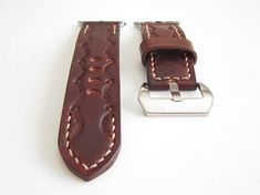 Brown Apple watch strap 42mm, Vintage Classic Strap for Women and Men, Leather Watch Band