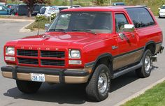 Dodge Ramcharger | 1991 Dodge Ramcharger 4x4 By Richard Denniston