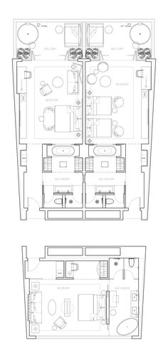 Bedroom hotel plan 23 New Ideas Design Hotel, Hotel Lobby Interior Design, Hotel Design Architecture, Sketch Architecture, Plan Hotel, Hotel Floor Plan, The Plan, How To Plan, Suite Room Hotel