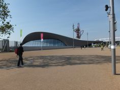 Aquatics Centre im Queen Elizabeth Olympic Park