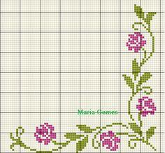 Cross Stitch Heart, Cross Stitch Borders, Cross Stitch Flowers, Cross Stitch Designs, Cross Stitching, Cross Stitch Embroidery, Embroidery Patterns, Hand Embroidery, Cross Stitch Patterns