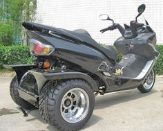 Vespa Bike, Trike Scooter, Moto Bike, Motorcycle, Gas Scooters For Sale, Bikes For Sale, Street Legal Moped, 49cc Scooter, Cars