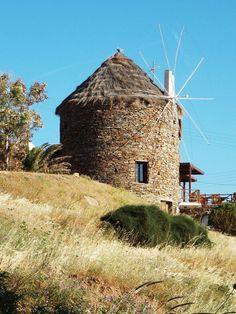 The stone windmill