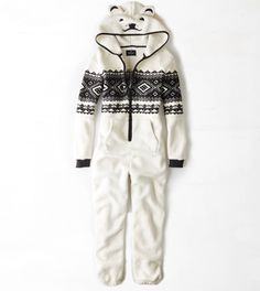 for that hard to shop for person lmao AEO Polar Bear Fair Isle Onesie Christmas Dress For Teens, Christmas Gifts For Girls, Womens Christmas Pajamas, Holiday Gifts, Christmas 2019, Christmas Ideas, Onesie For Teens, Cool Outfits, Fashion Outfits