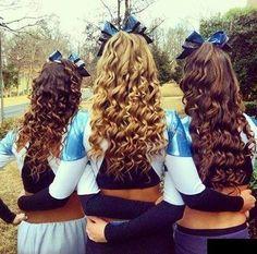 Sensational Cute Cheerleaders Cheer And Hair On Pinterest Short Hairstyles For Black Women Fulllsitofus