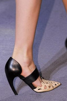 curved #shoes from #ProenzaSchouler A/W '13 #NYFW