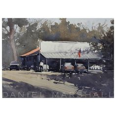 Daniel Marshall      Los Olivos Afternoon