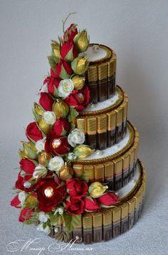 Gallery.ru / Фото #151 - Тортики из конфет - monier