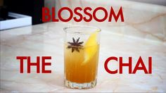 How To Make A Chai Blossom Tea Cocktail-Drinks Made Easy
