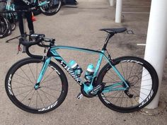Sneak preview of next years @IamSpecialized (Official) (Official) bike. Good memories to this color. #tdf #sl4