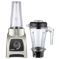 Vitamix S-Series Blender, Professional-Grade, Container, Brushed Stainless Finish Milk Shakes, Nutribullet, Best Vitamix, Single Serve Blenders, Smoothie Makers, Watermelon Lemonade, Frozen Cocktails, Best Blenders, Blenders