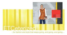 """""""Hide is Chic""""   Learn from Jennifer on how leather is fresh for Fall 2012 and showing up in untraditional ways. Click here to view the article & see how Etcetera has brought leather into our Fall collection.  http://www.etcetera.com/blog/"""