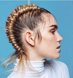 Figure 8 BRAID created by the talented @hayleybishophair @hayleybishophair ✨ #editorial #beyondtheponytail