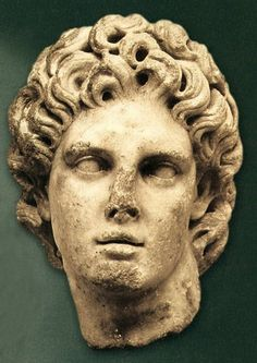 The best preserved sculpture of Alexander the Great Ancient Greek Art, Ancient Romans, Ancient Greece, Greek History, Ancient History, Art History, Hellenistic Art, Hellenistic Period, Alexander The Great