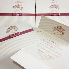 Convite de Casamento - Primavera