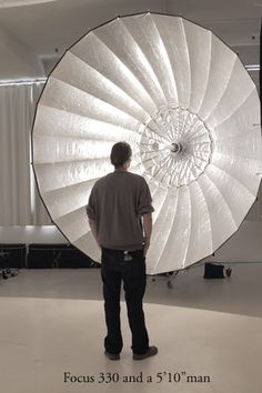 parabolic umbrella - Now I know this umbrella is monstrous and may seem like overkill but is fantastic for group shots and amazing wrap around.  They come in various sizes and affordable.