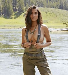 Naked Women In Waders 5