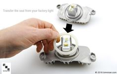 Replacements Lights Do Not Come With The Weather Seal. Be Sure To Transfer From Your Original Before Installing Into Headlamp. Factory Lighting, Lighting Accessories, Bmw Cars, Color Change, Halo, Rings For Men, Weather, Kit, Lights