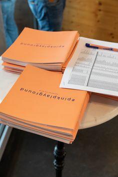 Katalog zur Vernissage Manners, Playground, Catalog, Children Playground, Outdoor Playground